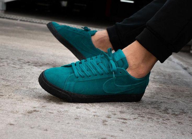 Nike Sb Zoom Blazer Low 'geode Teal' #nikeblazer #sneakers ...