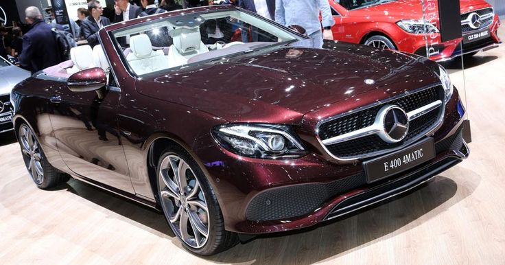 Stylish 2018 Mercedes-Benz E-Class Cabriolet And Coupe Drop By Geneva #Galleries #Geneva_Motor_Show