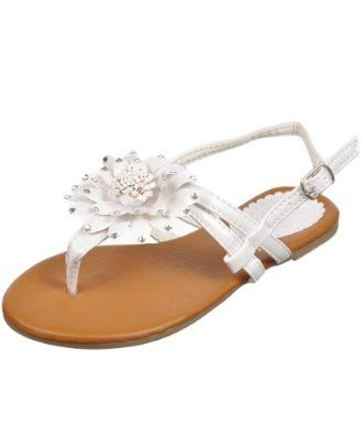 "Josmo ""Azaylia"" Sandals (Girls Youth Sizes 10 - 3) - white, 1 youth Josmo. $12.99"