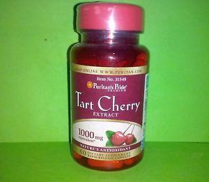 a cereza acida 1000 mg 60 capsulas puritans pride antioxidante