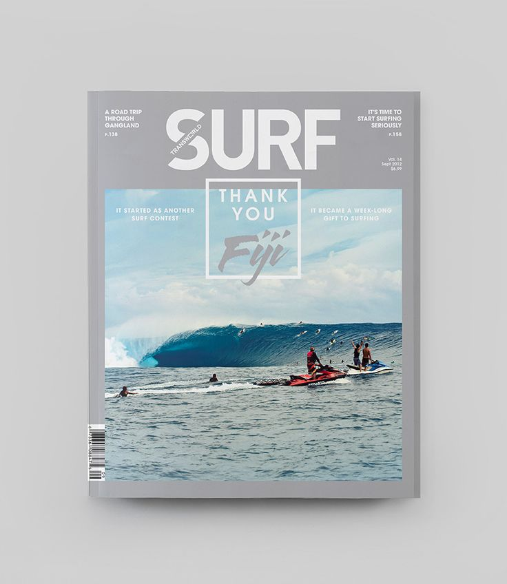 Inspirational Modern Magazine Re-Design - Transworld Surf