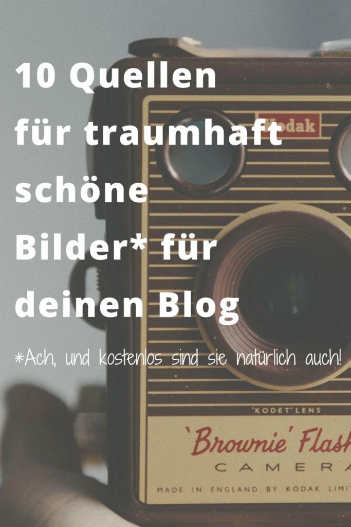 Schöne, originelle UND kostenlose Bilder für den Blog zu finden ist schwer. Diese Seiten helfen weiter I www.blogchicks.de