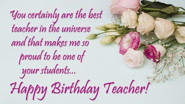 Happy Birthday Teacher Birthday Wishes For Teacher Happy Birthday Teacher Birthday Wishes For Teacher Happy Birthday Teacher Wishes