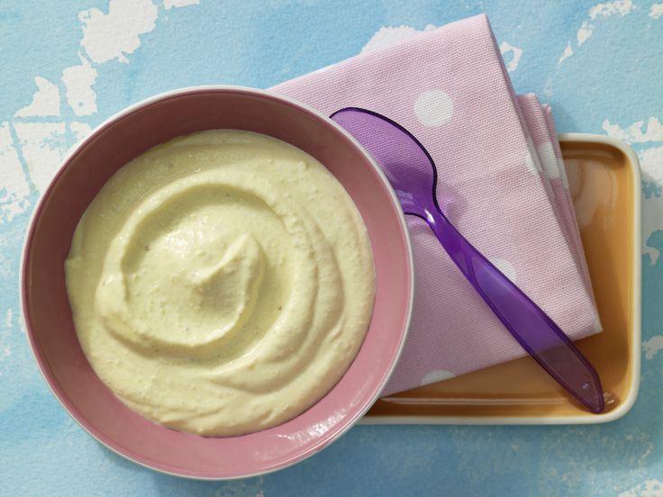 Couscous-Brei mit Pfirsich - Nachmittagsbrei ab 9. Monat (milchfrei)