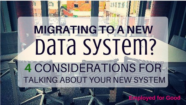 Migrating to a New Data System? What Leaders Say vs. What Staff Hear