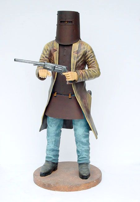 Pop Art Decoration - People - Cowboys & Indians - Outlaw Ned Kelly With Armour