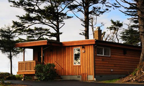 Iron Springs Resort in Seabrook, Washington - a small-town beach community vibe on the West Coast; resort recently remodeled, with a general store featuring homemade cinnamon rolls, proximate to the Quinault Rain Forest