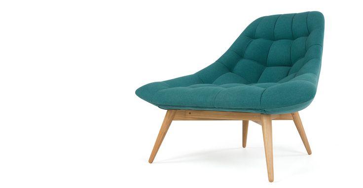 Kolton fauteuil, mineraalblauw