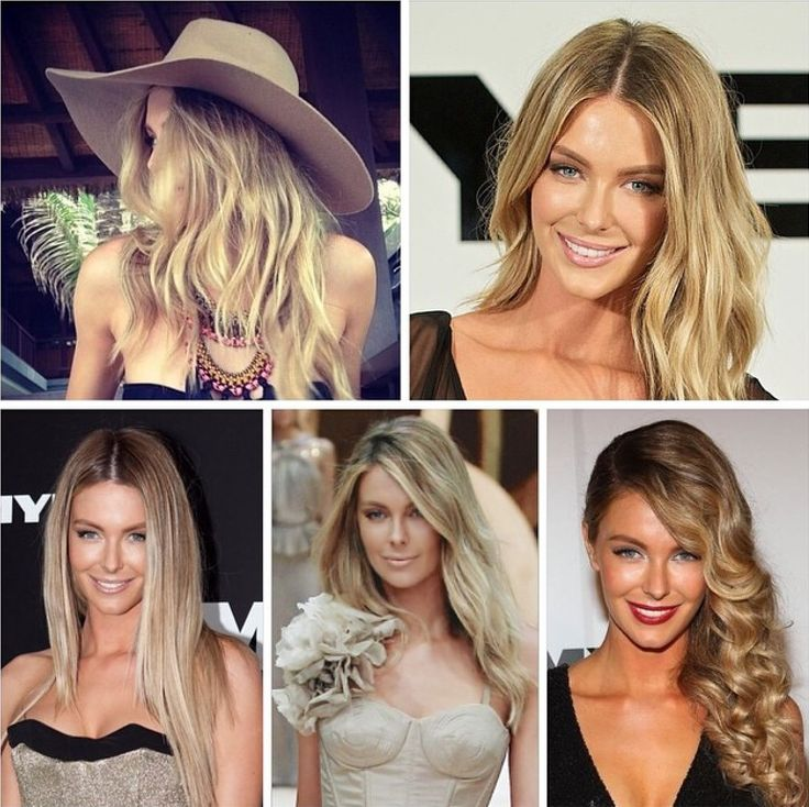 Jennifer Hawkins. Sheree has been colouring Jen's hair for 8 years, lots of different variations of blondes over years.