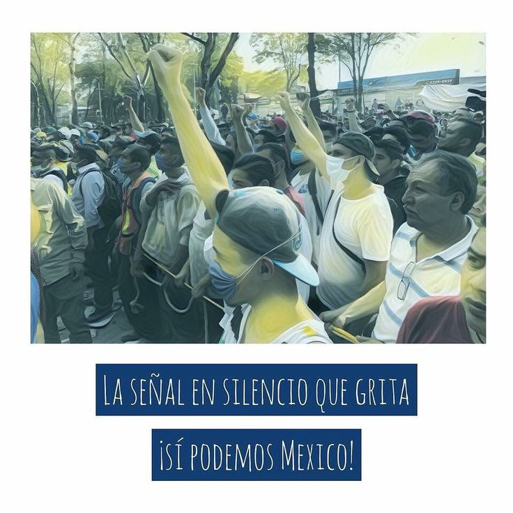 La señal en silencio que grita sí podemos México! . Entre el ruido de la solidaridad hay una seña que comunica la necesidad de silencio en el área de rescate para poder escuchar a nuestros hermanos atrapados por el #Sismo . Cada brazo levantado es una esperanza de vida. . . . #Solidaridad #FuerzaMéxico #CambiamosMx #CambiamosNL #Sismo #CDMX #Fuerza #FuerzaMéxico