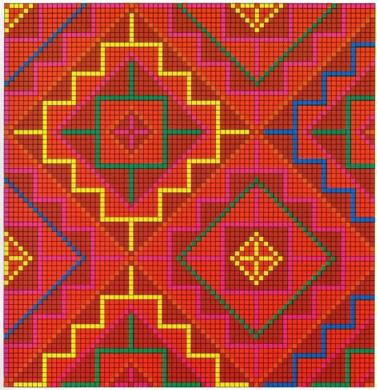Arabesque. A collection of old Israeli needlework patterns