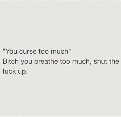 Cuss Too Much