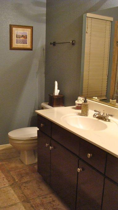 Painting Melamine Bathroom Cabinets 111 best bathroom renovations images on pinterest | bathroom