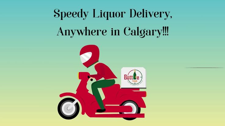 Get super-fast liquor delivery, anywhere in Calgary, only from Bottle Time! #LiquorDelivery #AlcoholDelivery   www.bottletime.ca
