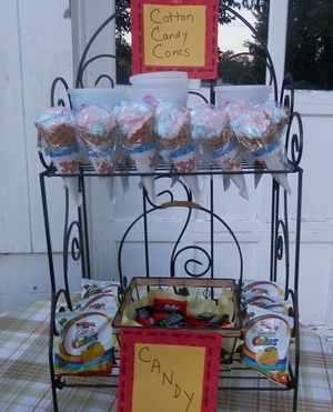 11 Steps to Throwing a Backyard Movie Party: Set up a Concession Stand