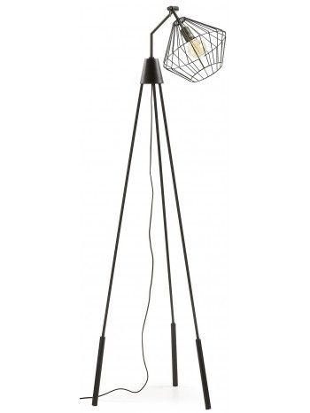 Un nuovo modo di intendere il design, questa lampada da terra, dal gusto minimal. Intrigante e affascinante piace a grandi e piccoli. Con una linea particolare ed originale, è un'illuminazione che sembra provenire dallo spazio.