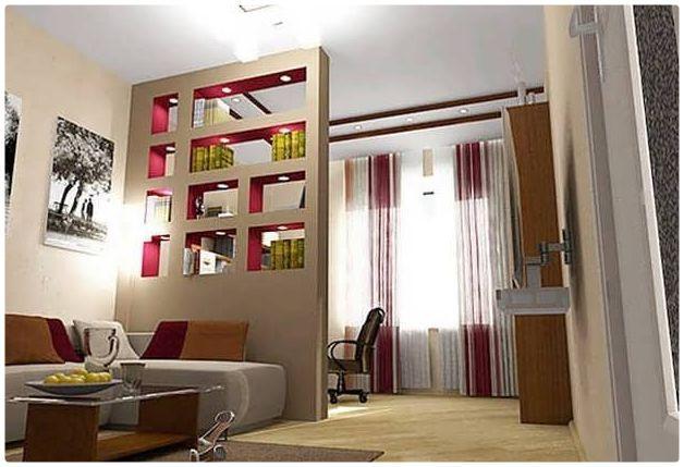 Зонирование гостиной и спальни в одной комнате - лучшие варианты с фото
