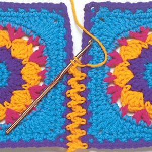 Joining crochet pieces or motifs Seams & Tails - Talking Crochet Newsletter - November 19, 2013 - Vol. 10 No. 23
