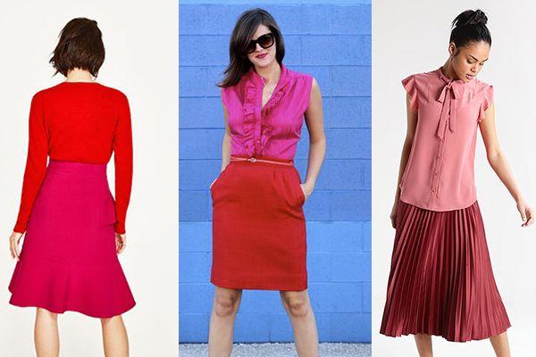 42+ Colores que combinan con rojo ropa ideas