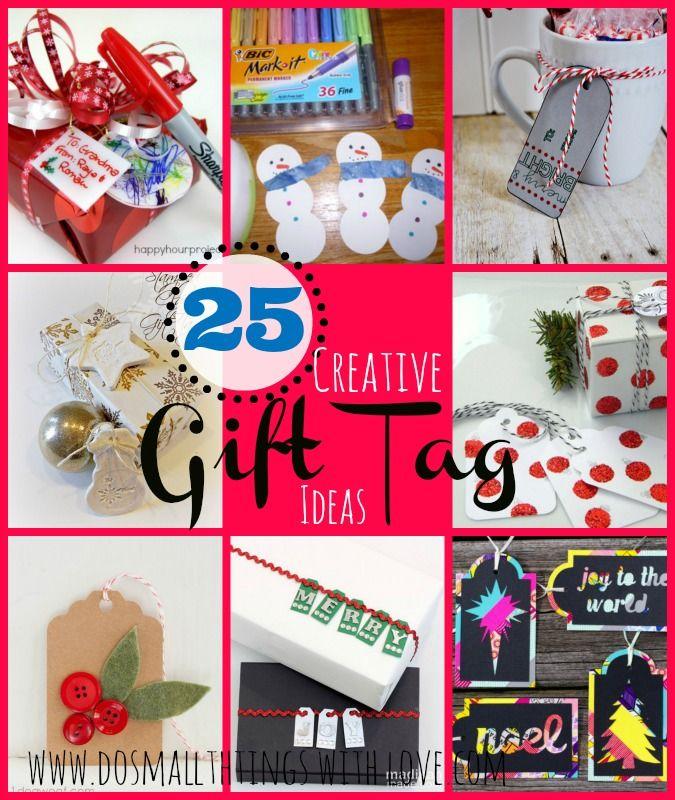 25 Creative Gift Tags
