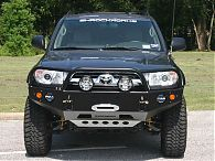 Toyota 4Runner Winch Bumper - 4th Gen, 2003 - 2009