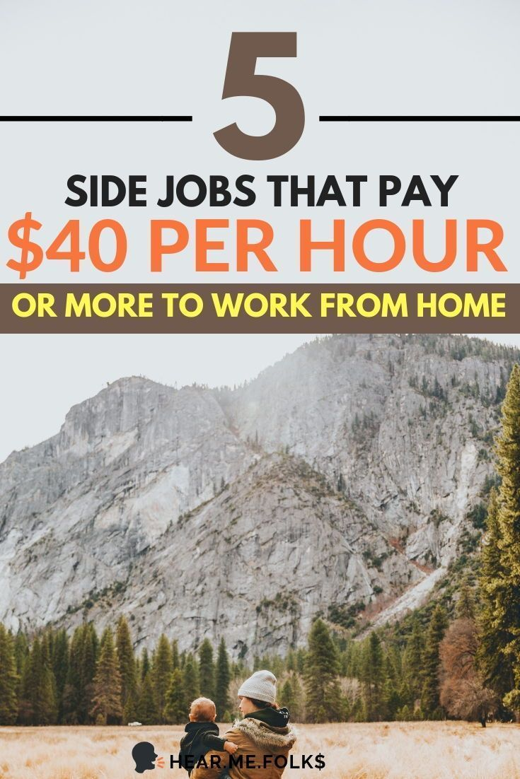 5 Real Work from Home Jobs to Make Up to $47/hr – Make More Money