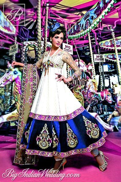 Ekta Solanki long anarkali suit