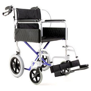 CareCo Aluminium Traveller Wheelchair, versatile and lightweight wheelchair, get it only from CareCo for an incredible £89.99.