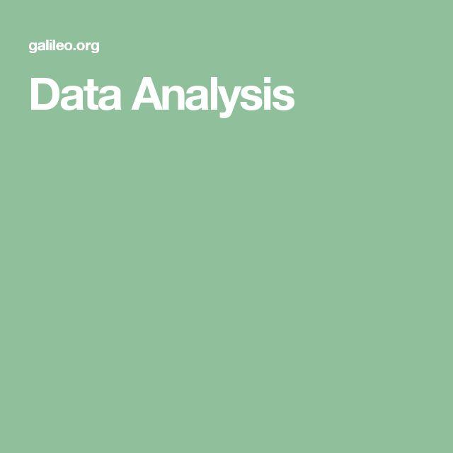 89 best Data Analysis images on Pinterest Computer science, Big - data analysis