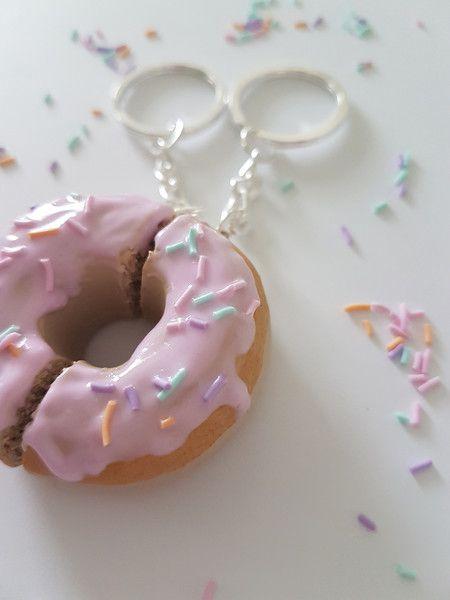 Weiteres - Best friends Donut-Schlüsselanhänger - ein Designerstück von FlamingoBox bei DaWanda