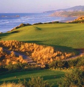 Bandon Dunes Resort is a world class golf course located at Bandon, Oregon.  See Travel Oregon for more information.
