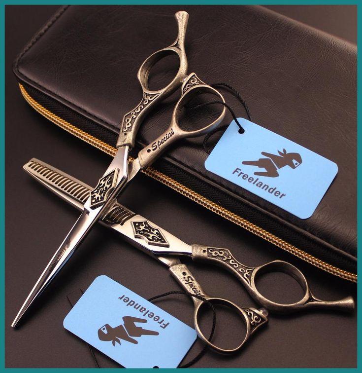 Japanese Professional 6 inch Hair Cutting Thinning Scissors Set Kapper Hairdressing Shears Makas Scharen Forbici Capelli