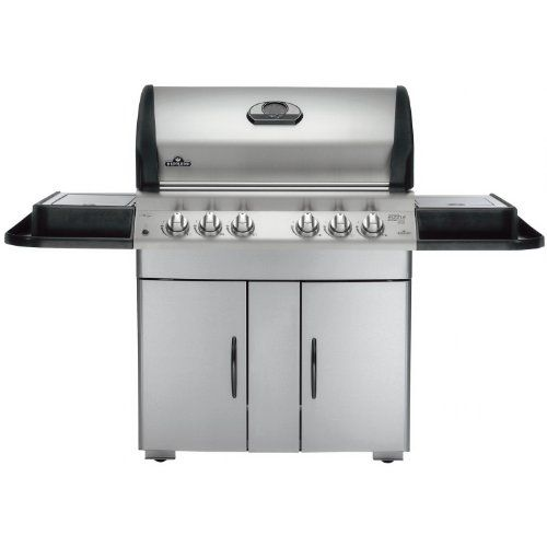 Good Deal Napoleon M605RSBIPSS-1 Mirage Propane Gas Grill with Infrared Rear and Side Burner
