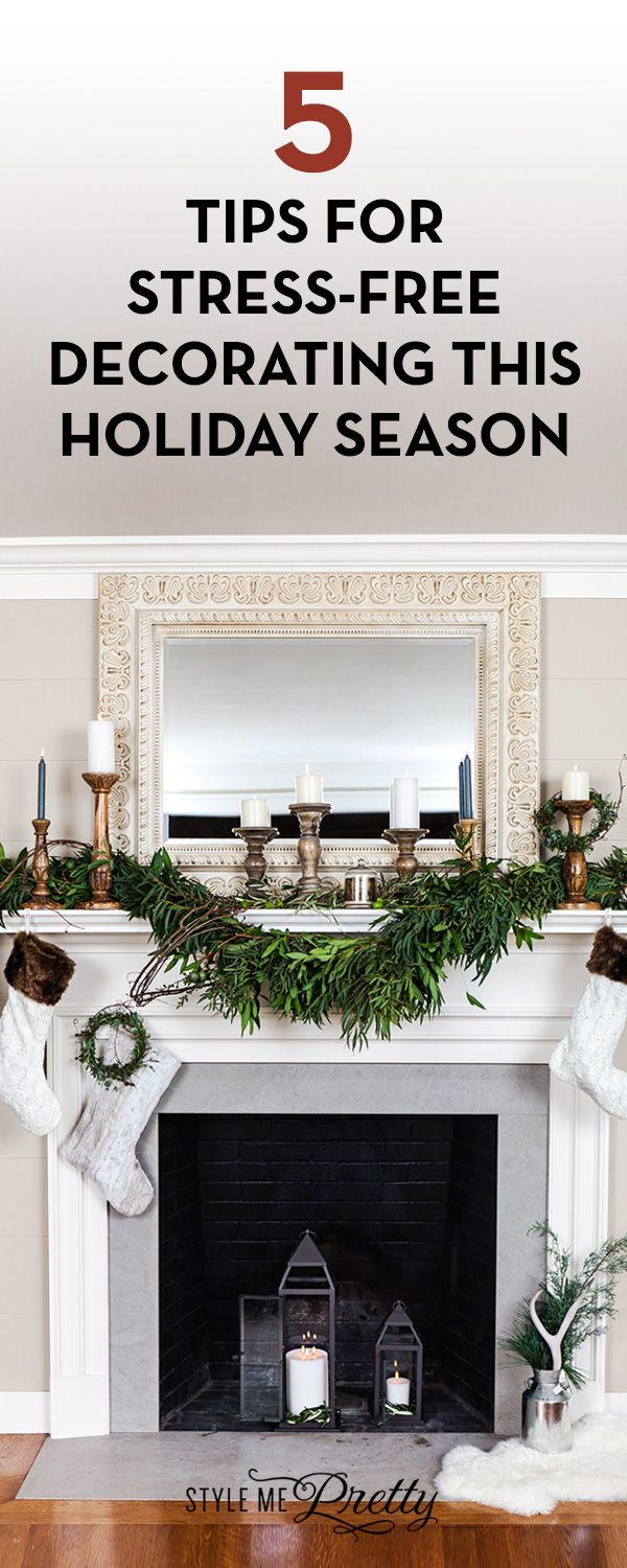 5 Tips for Stress-Free Decorating this Holiday Season