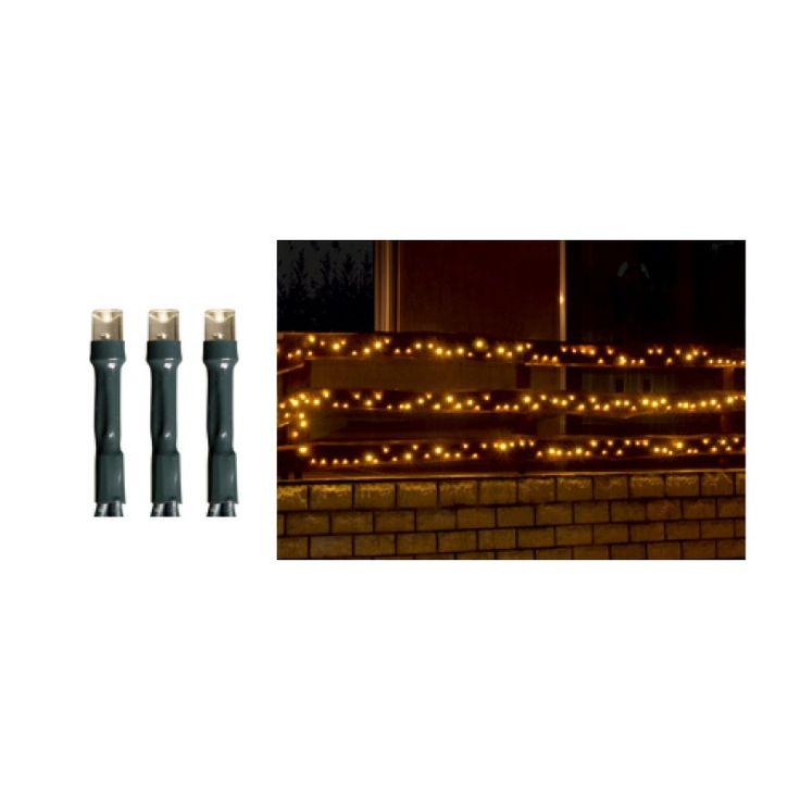 Ghirlandă cu LED, 1000 buc LED-uri albe, lumină caldă, statică, pt exterior KKL 1000/WW