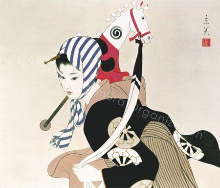 Tasumi shimura 'harukoma' # 志村立美『春駒』