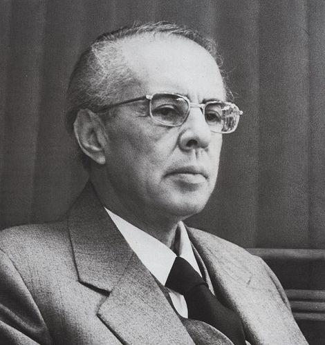 Enver Hoxha, 1984.
