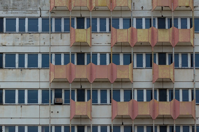Planet East. Haus of the Statistics, former East Berlin...