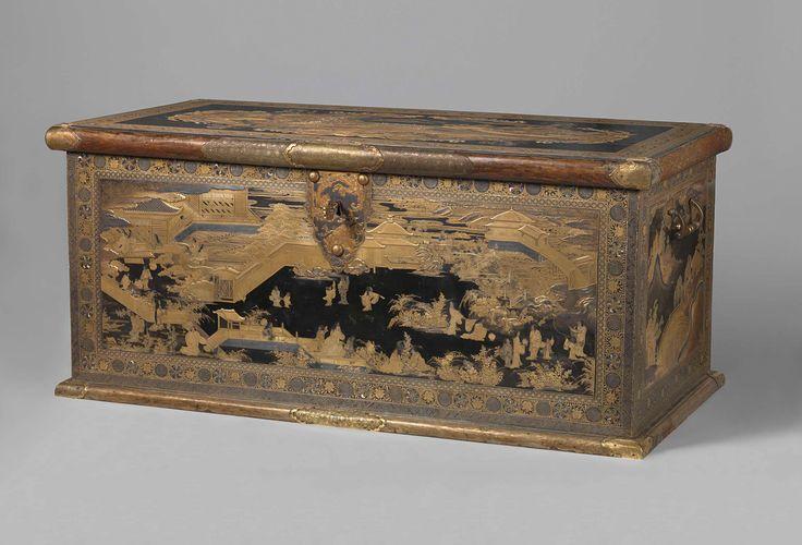 Chest, attributed to Koami-werkplaats, c. 1635 - c. 1645