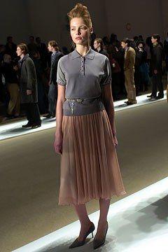 Perry Ellis Fall 2004 Ready-to-Wear Fashion Show - Polina Kouklina, Patrick Robinson