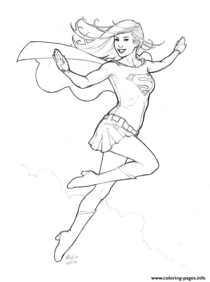 52 best the super yael & super yotam show images on pinterest - Supergirl Coloring Pages Kids
