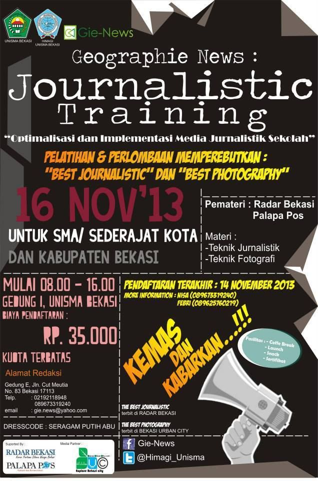 Journalistic Training