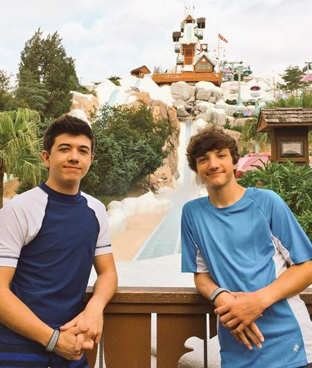 Bradley Steven Perry & Jake Short