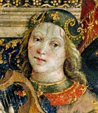 Alfonso of Aragon (1481-1500) illegitimate son of King Alfonso II of Naples and his mistress Trogia Gazzela. Husband to Lucrezia Borgia