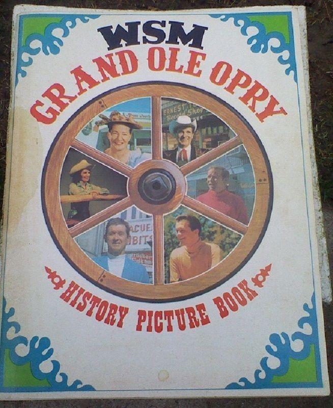 1969 Country Music Book WSM Grand Ole Opry132 Pages