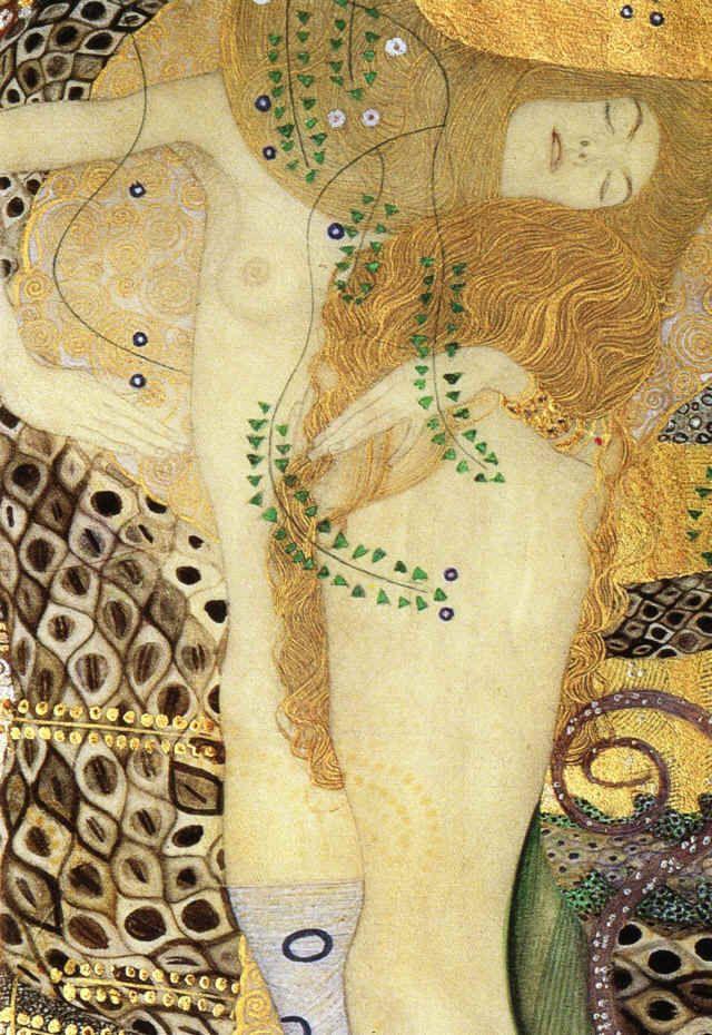 Gustav Klimt –Water Serpents.
