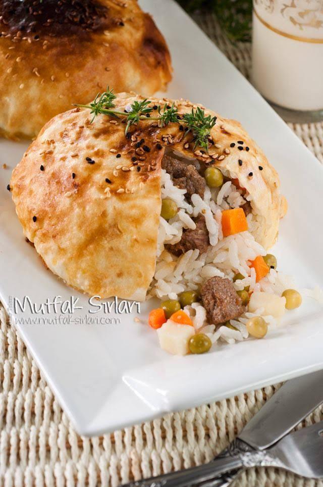 Yufkada Kavurmalı Pilav – Mutfak Sırları – Pratik Yemek Tarifleri