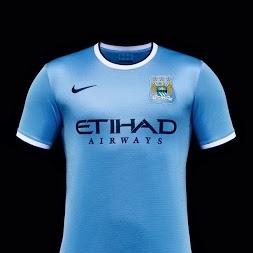 Manchester City Shirt  2013