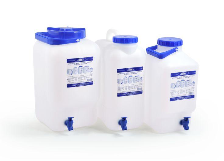 Aitoja kotimaisia vesiastioita! 10-20L. Water containers from Plastex. Made in Finland.