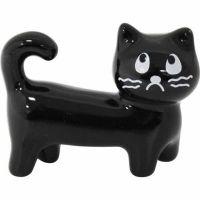 프렌치캣 젓가락받침 - 산책 ※ 일본 도자기 고양이 수저받침,선물